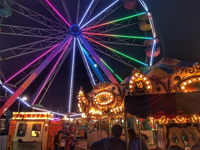 Midway at Neshoba County Fair