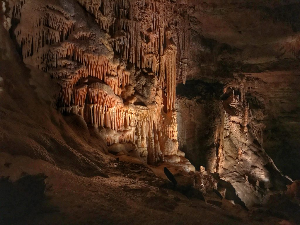 Natural Bridge Caverns in New Braunfels Texas