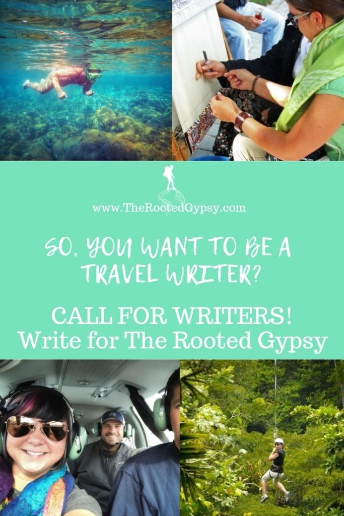 Call for Writers