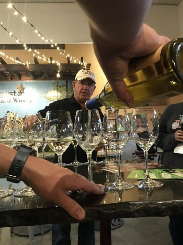 Wine Tasting at Yellowstone Cellars & Winery