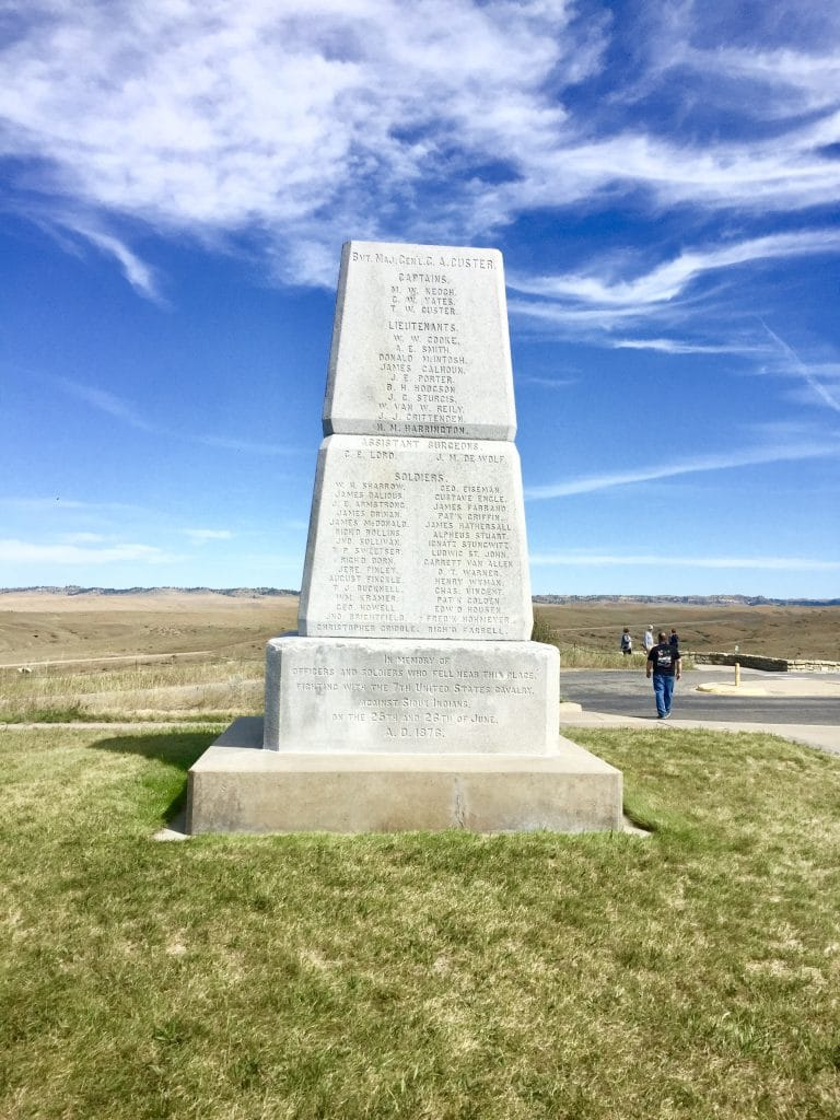 Monument at Little Bighorn National Monument
