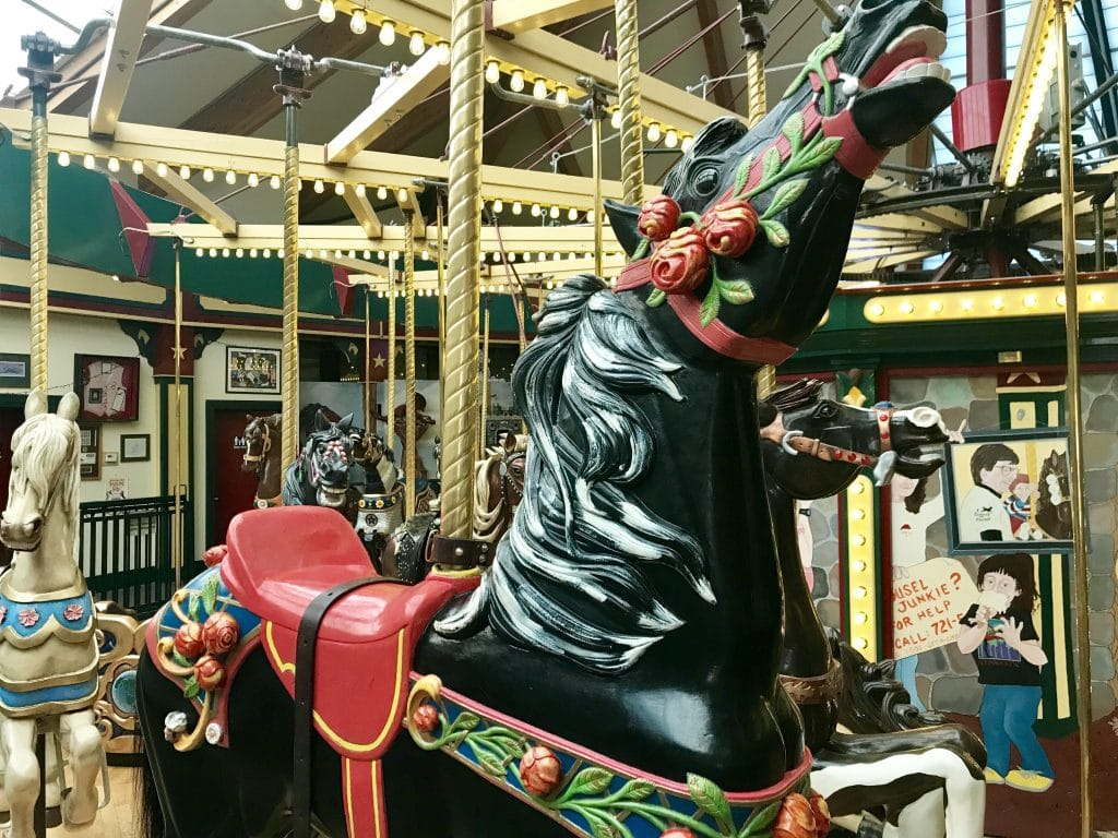 Midnight Rose A Carousel for Missoula