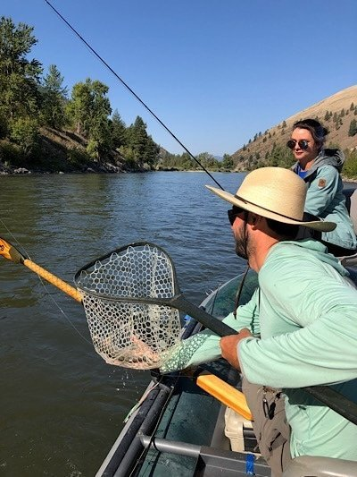 Fly Fishing with Grizzly Hackle Guides on Clark Fork River
